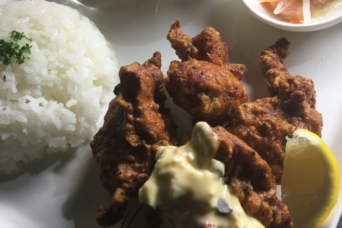 有明鶏もも肉のスパイス唐揚げ 自家製タルタル添